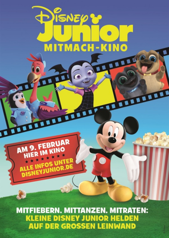 """DISNEY JUNIOR MITMACH-KINO"""